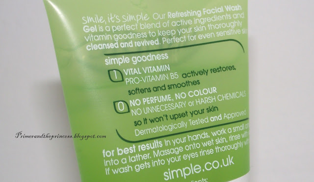 Simple Kind To Skin Refreshing Facial Wash Gel Review