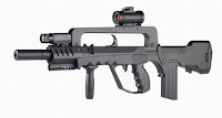 FAMAS assault rifle