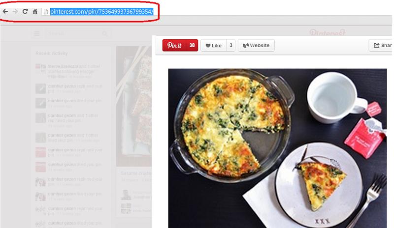 Blogger Yayın İçinde Pinterest Paylaşımlarını Kullanmak