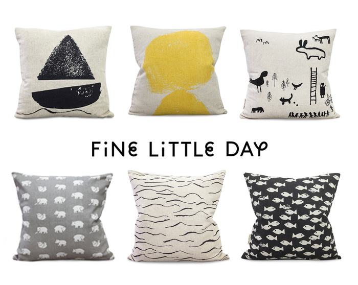 fine little day pillows collection