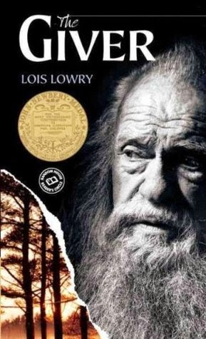 the cover of The Giver by Lois Lowry