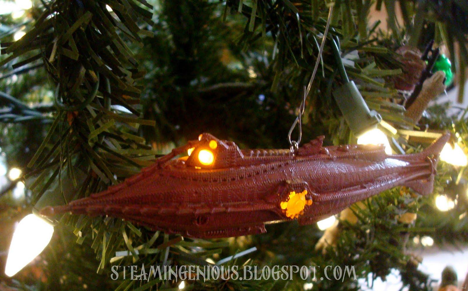 Steam Ingenious: Steampunk Christmas Ornaments
