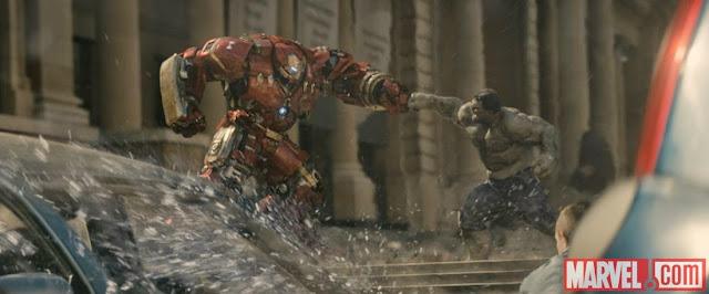 avengers 2 age of ultron still iron man hulk