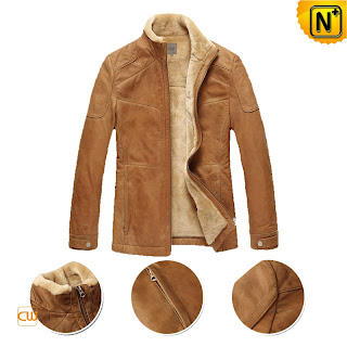 Mens Lamb Fur Jacket
