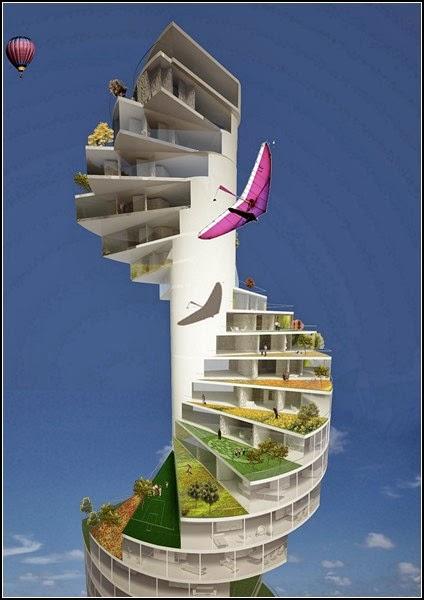 spiral stairs design in new York, stairscraper