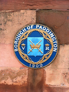 Plaque for Borough of Paddington