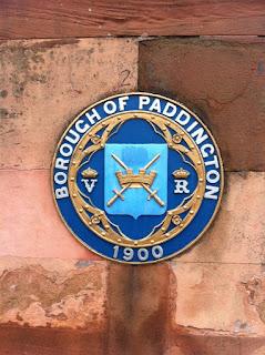 Plaque for Borough of Paddington