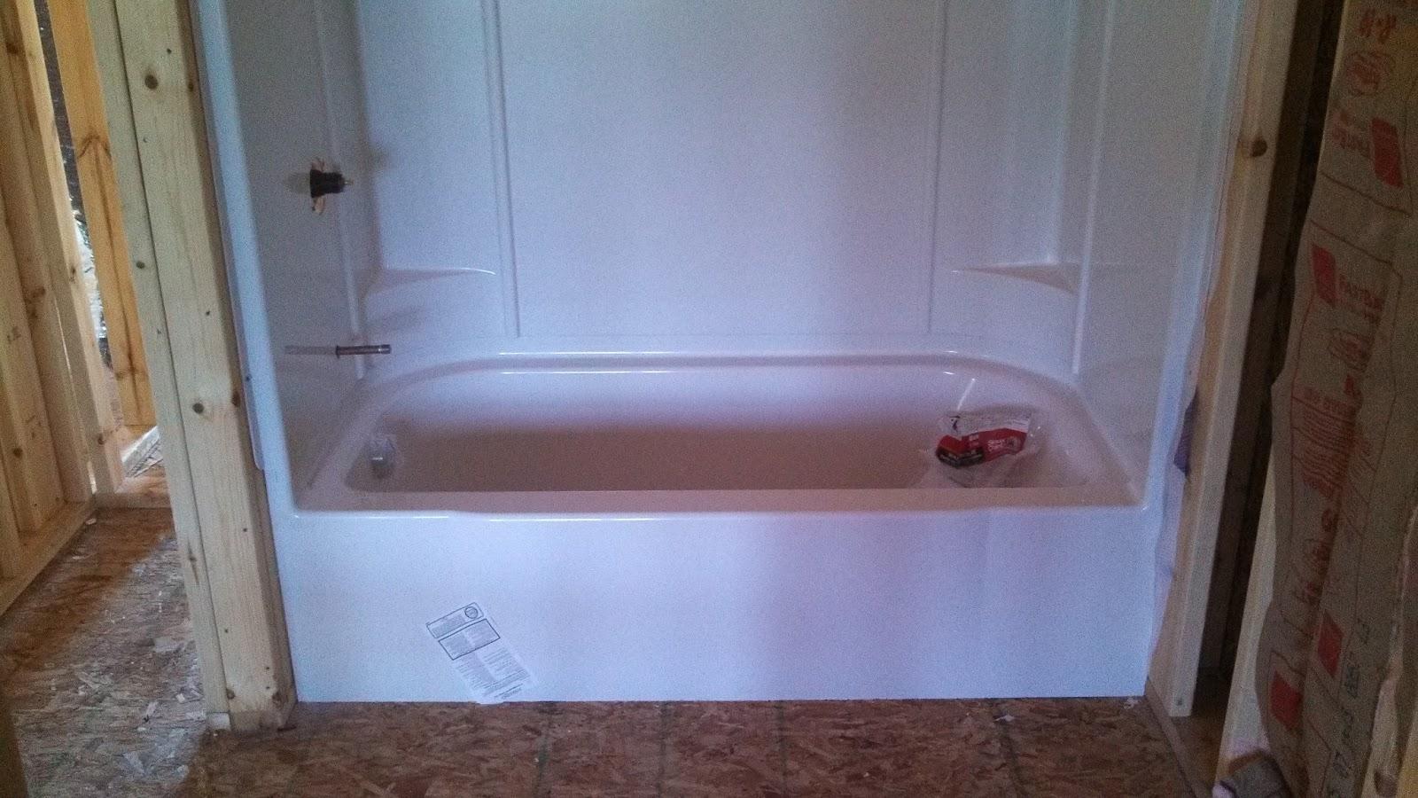 Barb and Jeff\'s new house: Plumbing has begun...