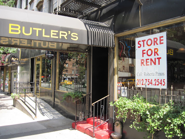 Butler's was great with the service but diners in New York didn't care to keep it around