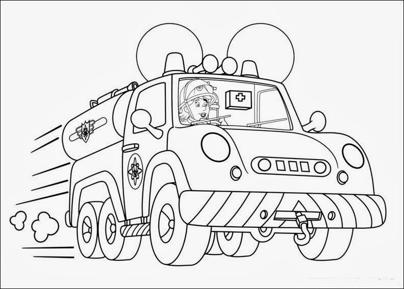 Fun Coloring Pages Fireman Sam Coloring Pages Fireman Sam Coloring Pages