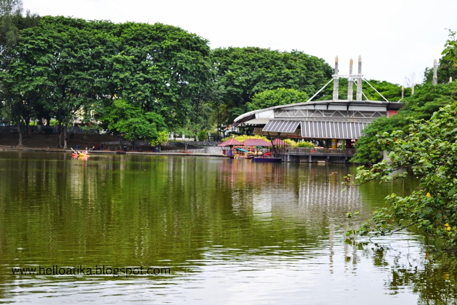 Makan Angin di Tasik Shah Alam