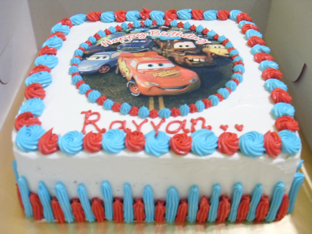 Yusscakeplanet Cars Rayyan Birthday