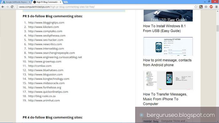 Cara Meningkatkan Traffic Web Blog dari Blogwalking