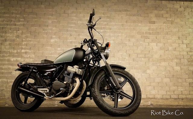 readers rides honda cm125 riot bike return of the cafe racers. Black Bedroom Furniture Sets. Home Design Ideas