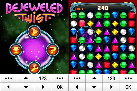 240x320 Java Game: Bejeweled Twist