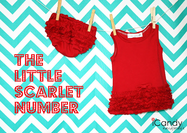 red ruffled outfit sewing tutorial