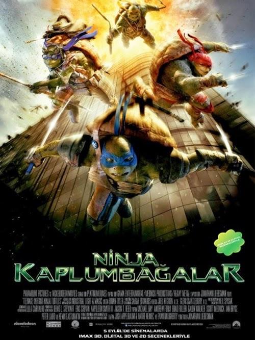 Ninja Kaplumbağalar: Teenage Mutant Ninja Turtles (2014) poster