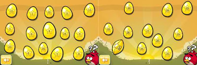 Angry Birds Golden Egg Walkthrough - Angry Birds Golden Egg Selection Screen with numbers