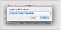 backup unlock activation tickets