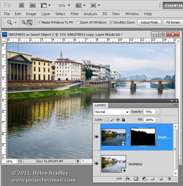 Lightroom to Photoshop Editing