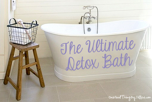 Ultimate Detox Bath Recipe