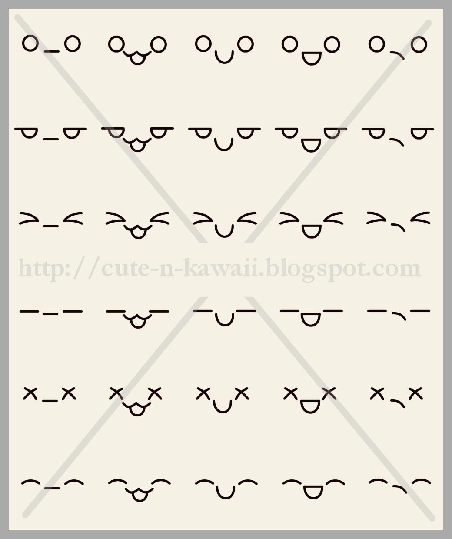 Uncategorized Kawaii How To Draw cute n kawaii how to draw faces