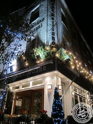 Image of Entrance of Montpeliano Italian restaurant in London, England
