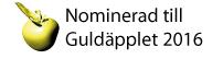 Guldäpple nominerad :-)