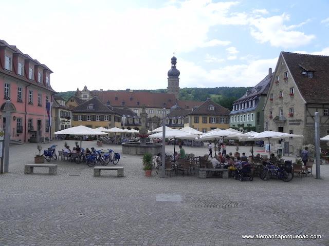 Praça em Weikersheim
