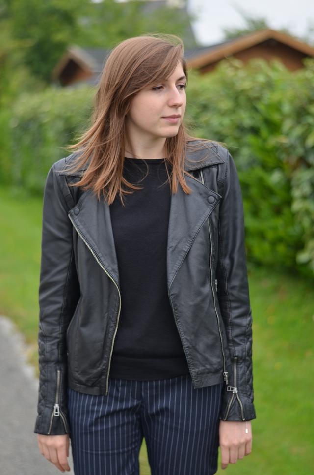 Ohcommentçava - Perfecto cuir noir