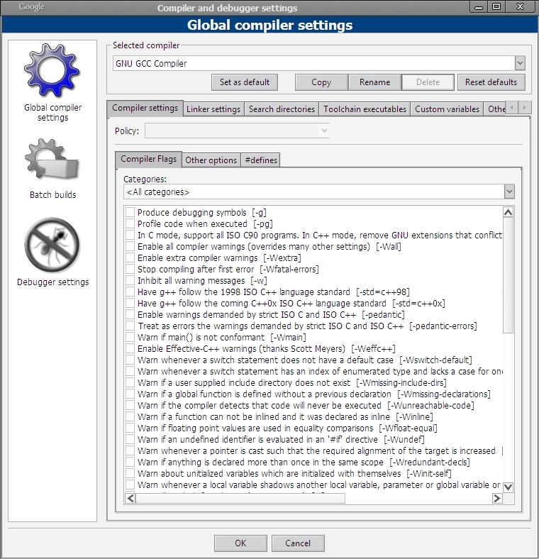 C 11 C 0x Codeblock Mingw32 Gcc