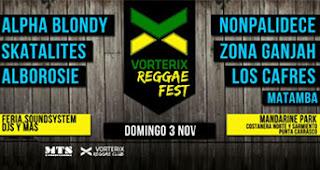 Vorterix Reggae Fest,