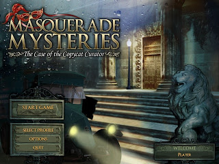 Masquerade Mysteries - The Case Of The Copycat Curator