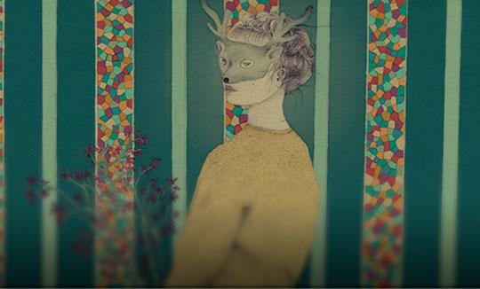 Ilustración, Ella de Daniela Gallego aka LuloFebril