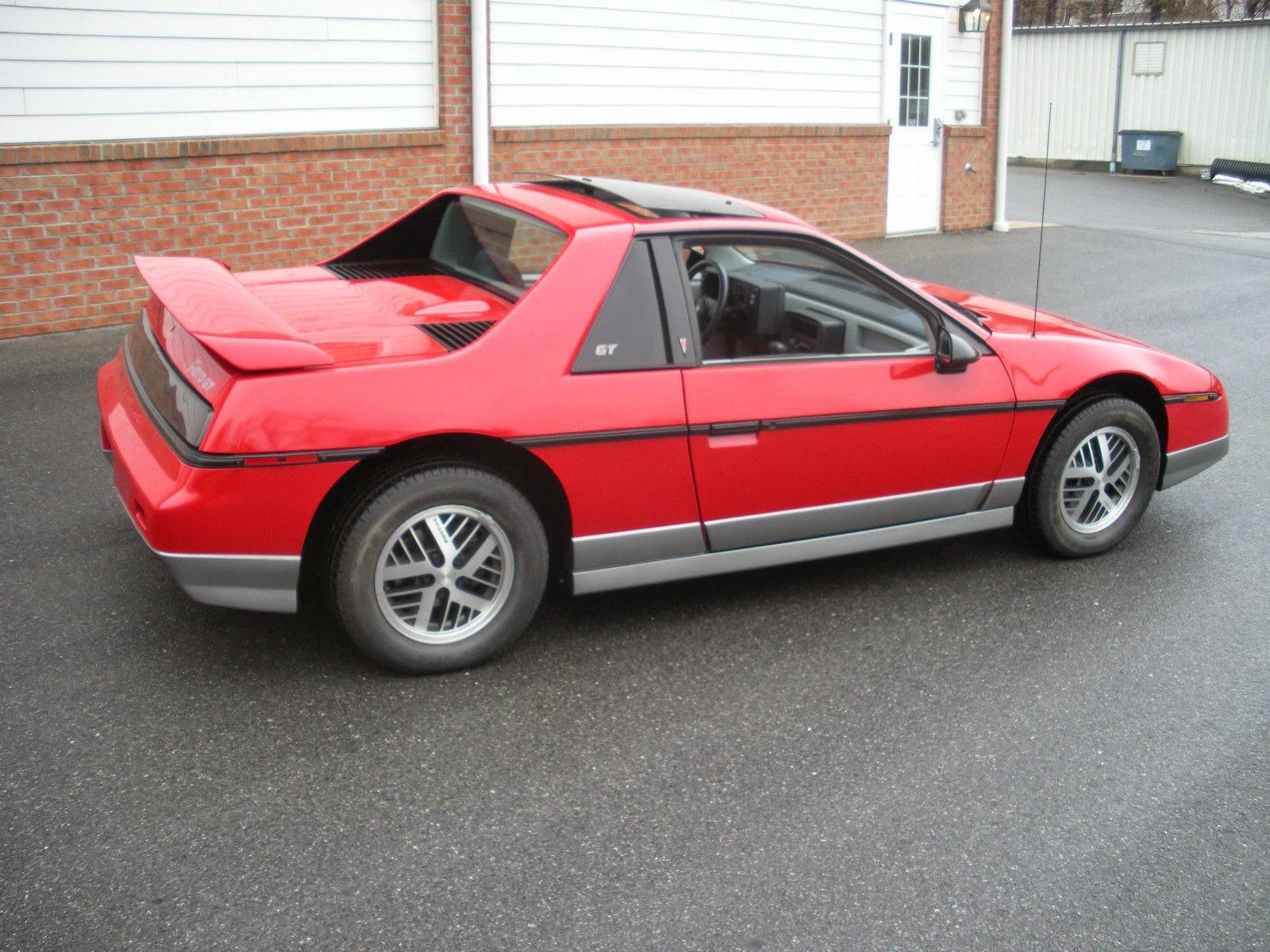 All American Classic Cars: 1985 Pontiac Fiero GT 2-Door Fastback