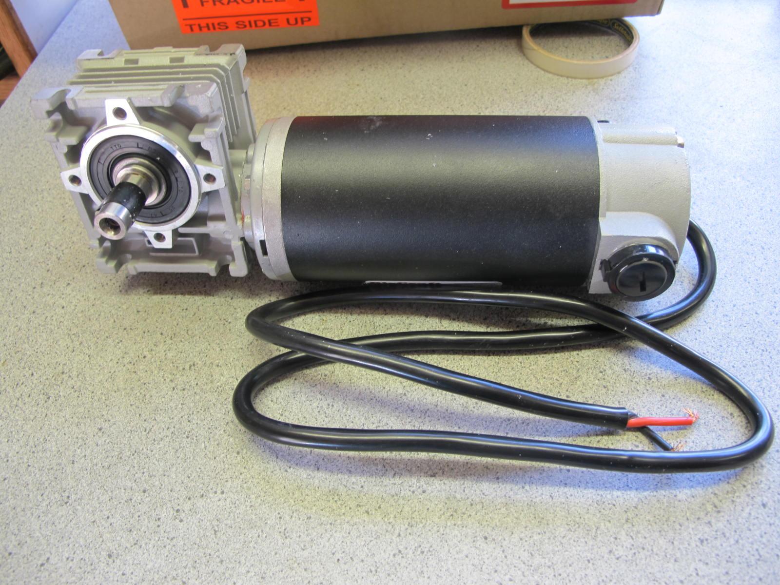 Ckd boats roy mc bride toylander 250 watt 12 volt dc for 12 volt gear motor