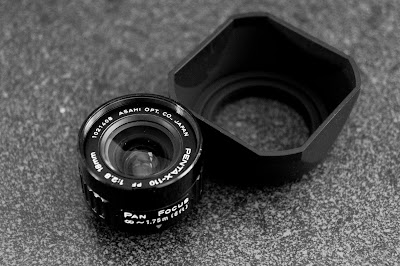 Pentax Auto 110 Pan Focus 18mm f/2.8 on Sony NEX 5N