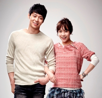 Park Yoochun and Han Ji-Min in Rooftop Prince