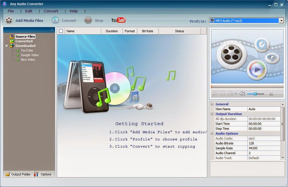تحميل برنامج تحويل جميع الصيغ الصوتية Download All Audio Converter