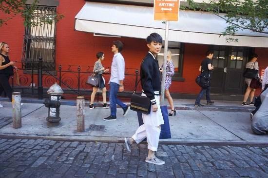 Liu Li Yang New York trailer exposure into the ever-changing fashion observer