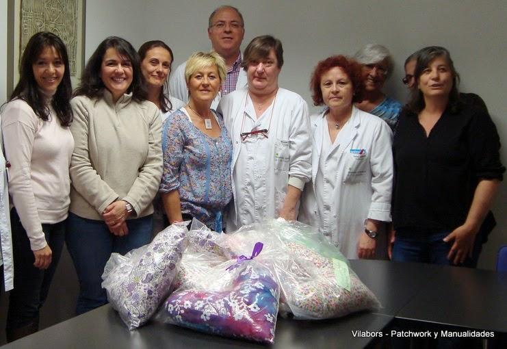 Donación del Coixi del Cor al Hospital de Vilafranca