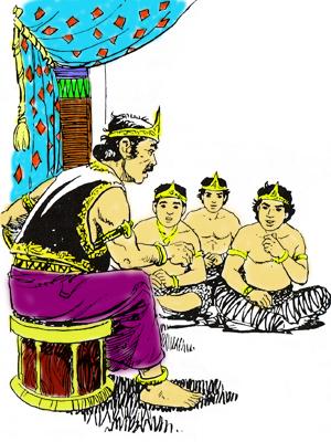 Cerita dongeng, Mencari Calon Putra Mahkota