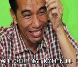 Tulisan Gambar Jokowi yang Lucu Gokil
