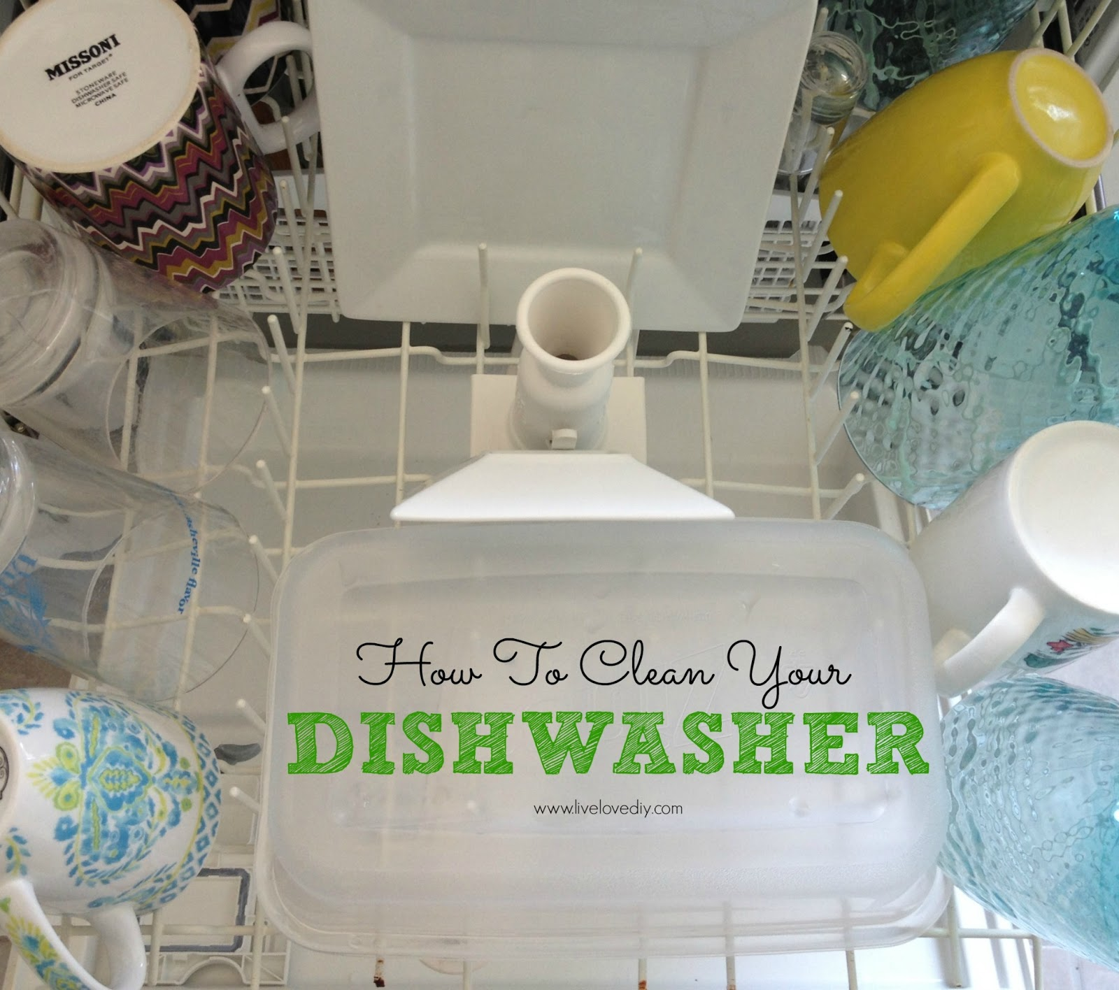 How To Clean A Dishwasher Drain Livelovediy 10 Vinegar Cleaning Secrets