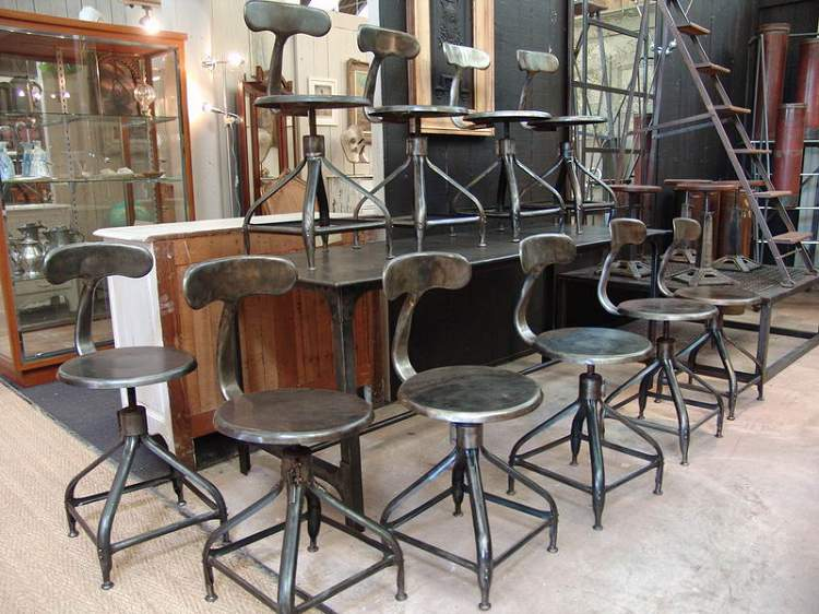 LETS STAY Modern Classic Industrial Chairs