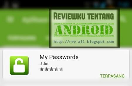 Ikon dan nama aplikasi MY PASSWORDS - Aplikasi mungil untuk menyimpan dan pengingat password di android (rev-all.blogspot.com)