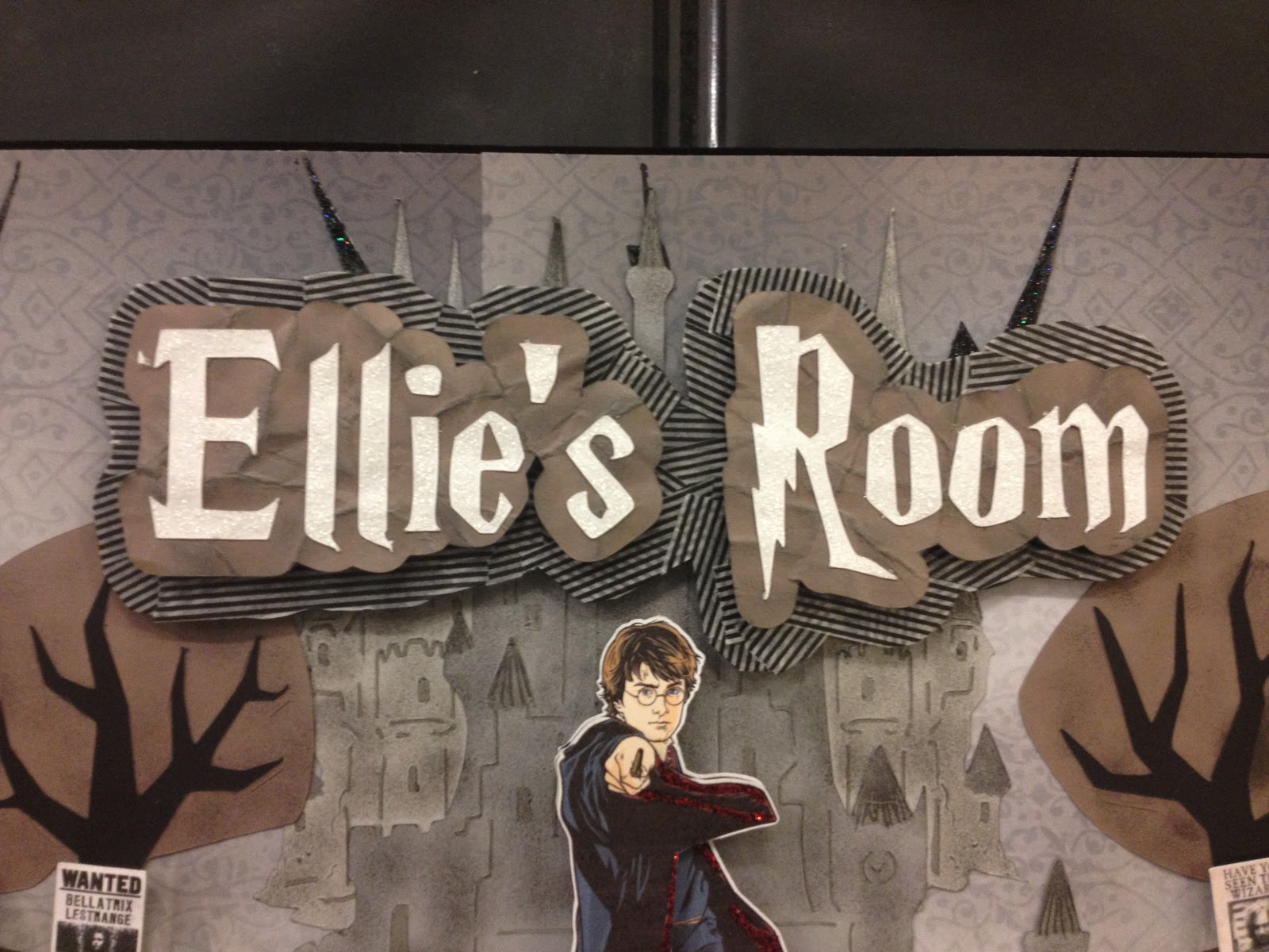 Harry S Room Sign Harry Potter