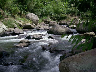Air sungai adalah inspirasi