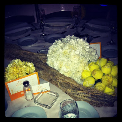 white and yellow wedding at our venue We have had a LOT of weddings in the