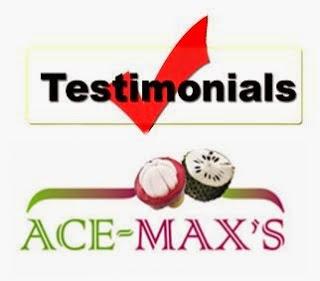 Testimoni Ace Maxs